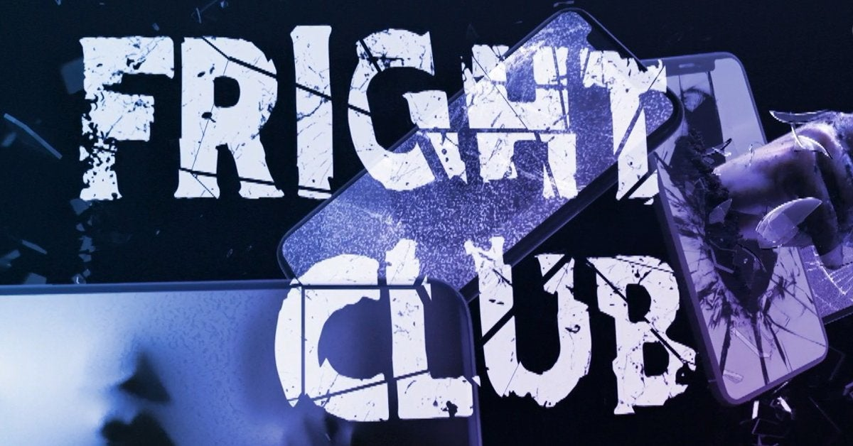 fright club trailer logo discovery plus