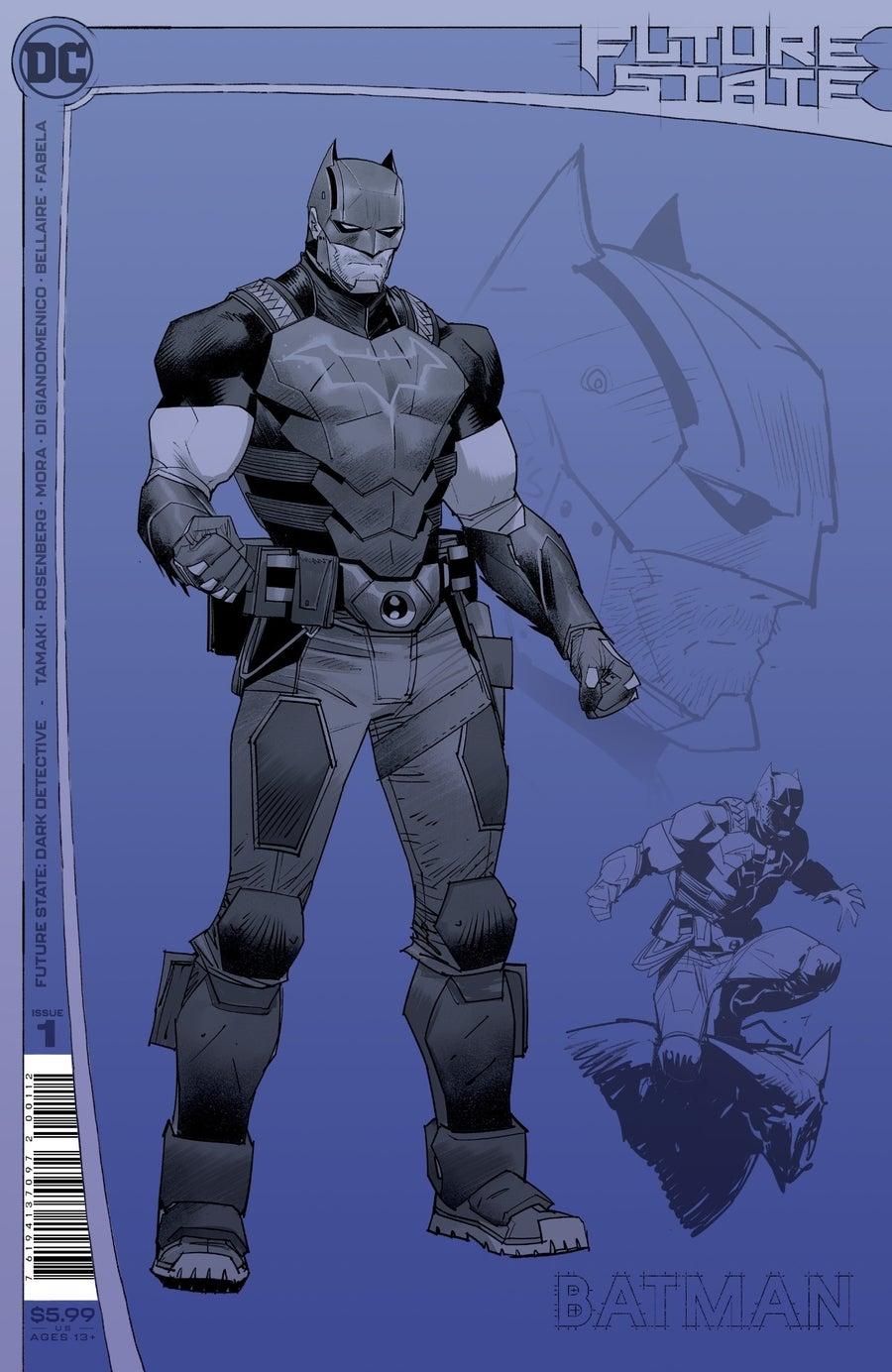 future state dark detective 1 second printing cover