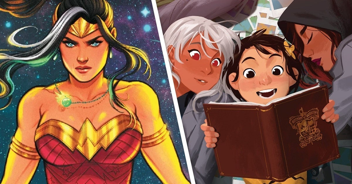future state immortal wonder woman gotham academy easter egg