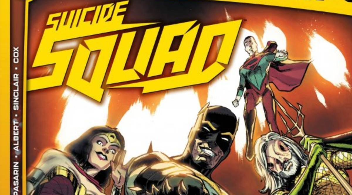 Future State Suicide Squad #1 Review - Cover