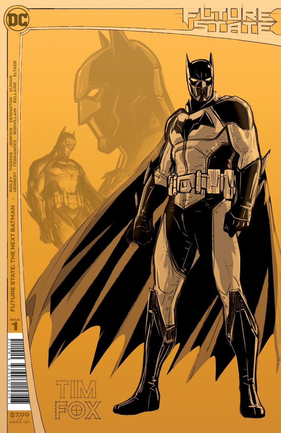 future state the next batman 1 second printing cover