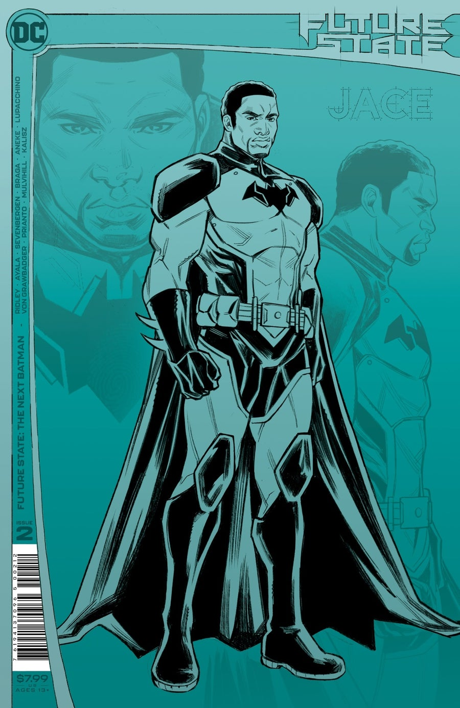 future state the next batman 2 second printing cover