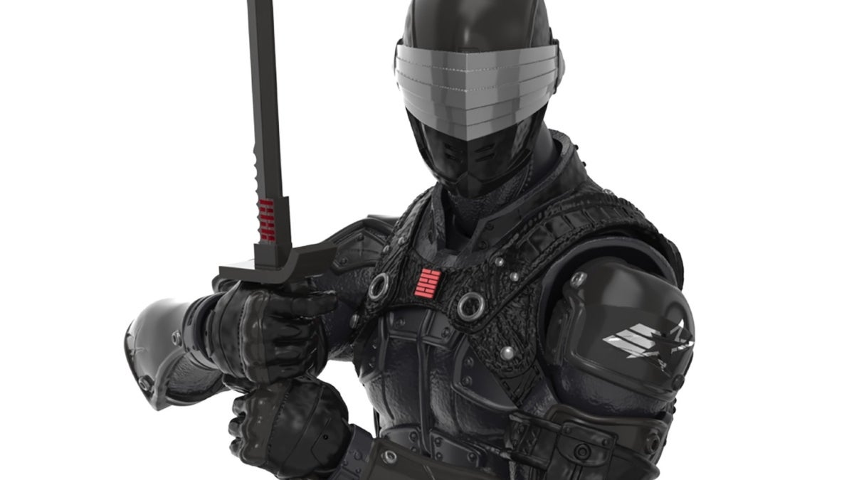 gi joe fortnite snake eyes figure new cropped hed