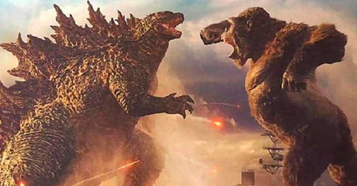 Godzilla Kong How Big