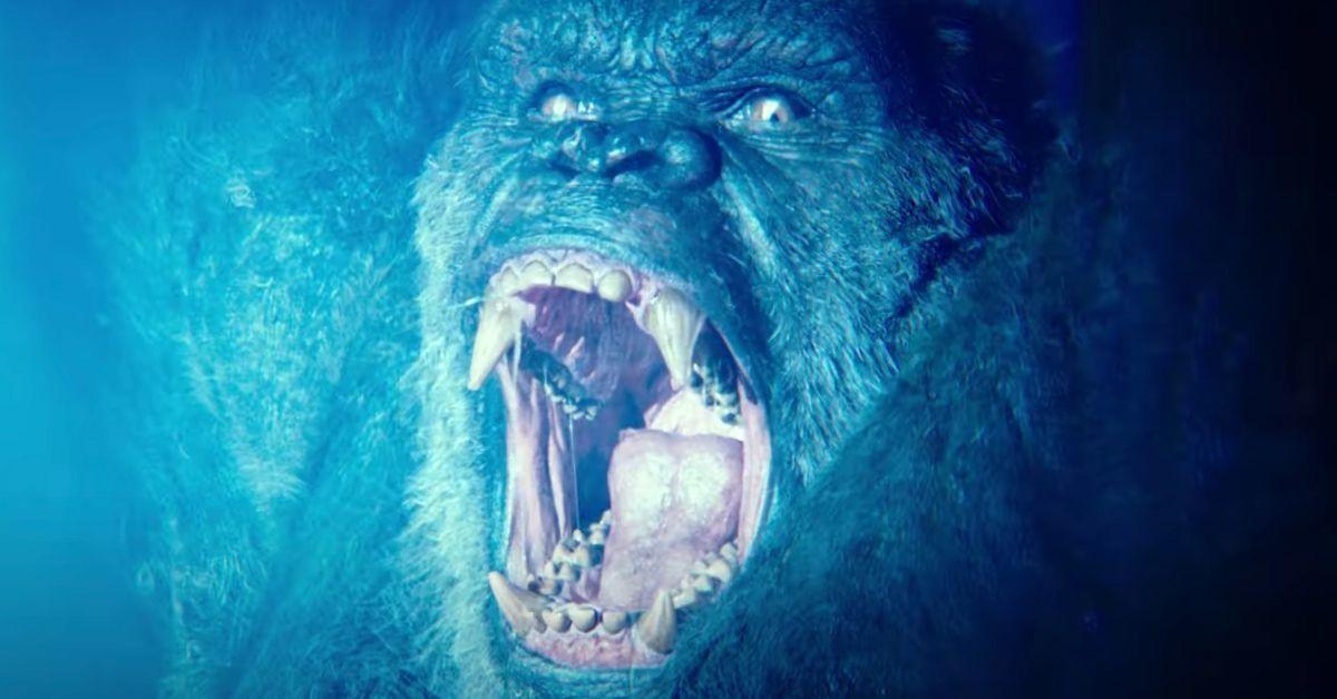 Godzilla vs Kong Kong Nuclear Power Fighting