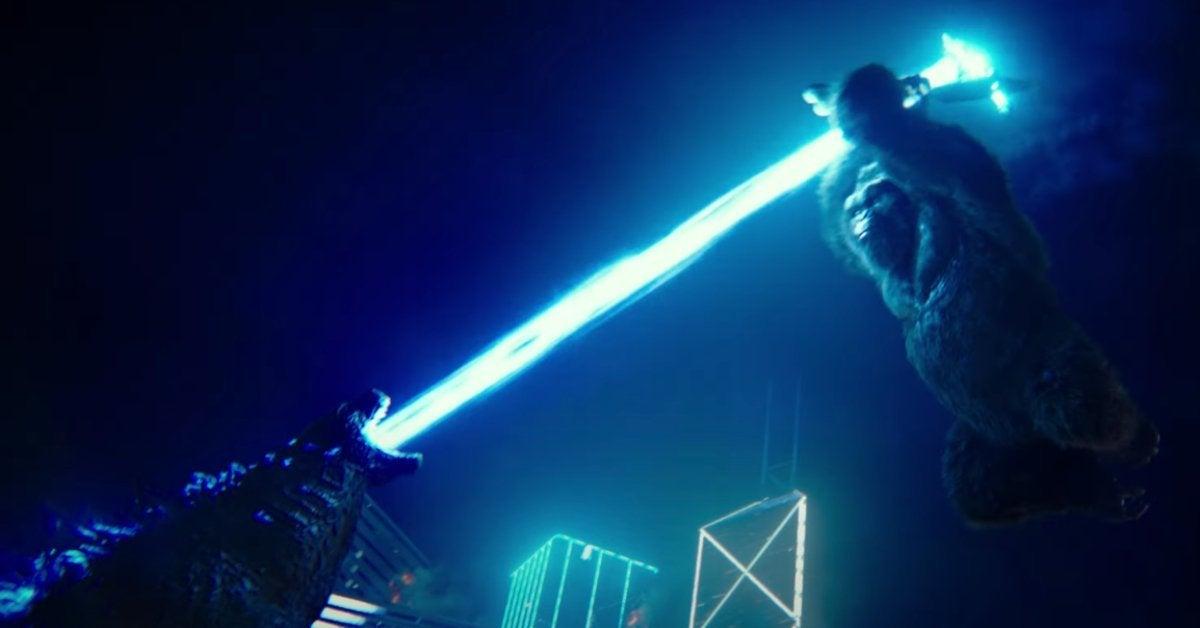 Godzilla vs Kong Trailer Kong New Weapons Axe Spear