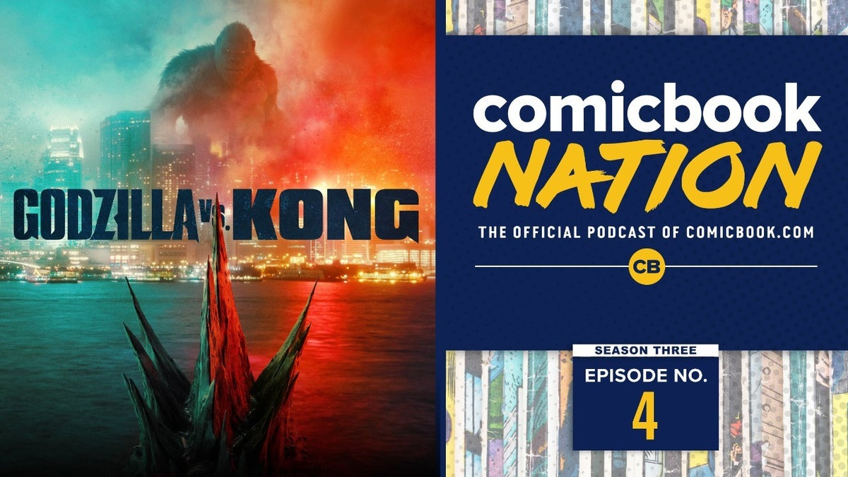 Godzilla vs Kong Trailer Reactions WWE Royal Rumble Preview Podcast