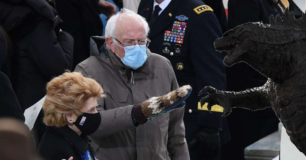 Godzilla Vs Kong Vs Bernie Sanders