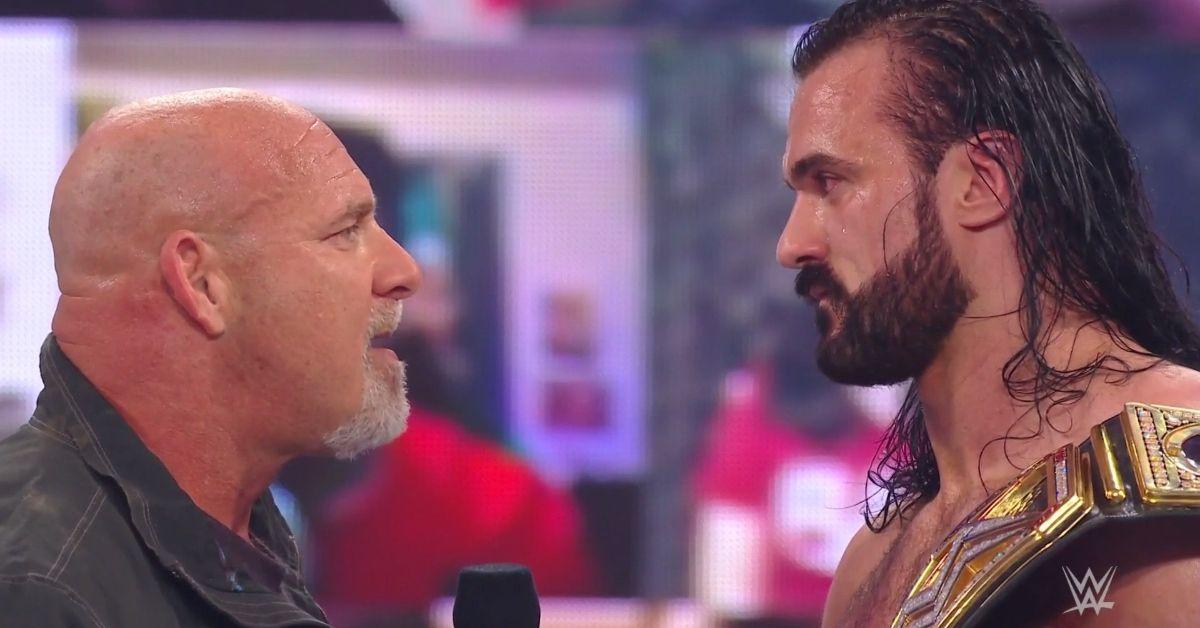 Goldberg Return WWE RAW Legends Night Drew McIntyre Championship Match Royal Rumble