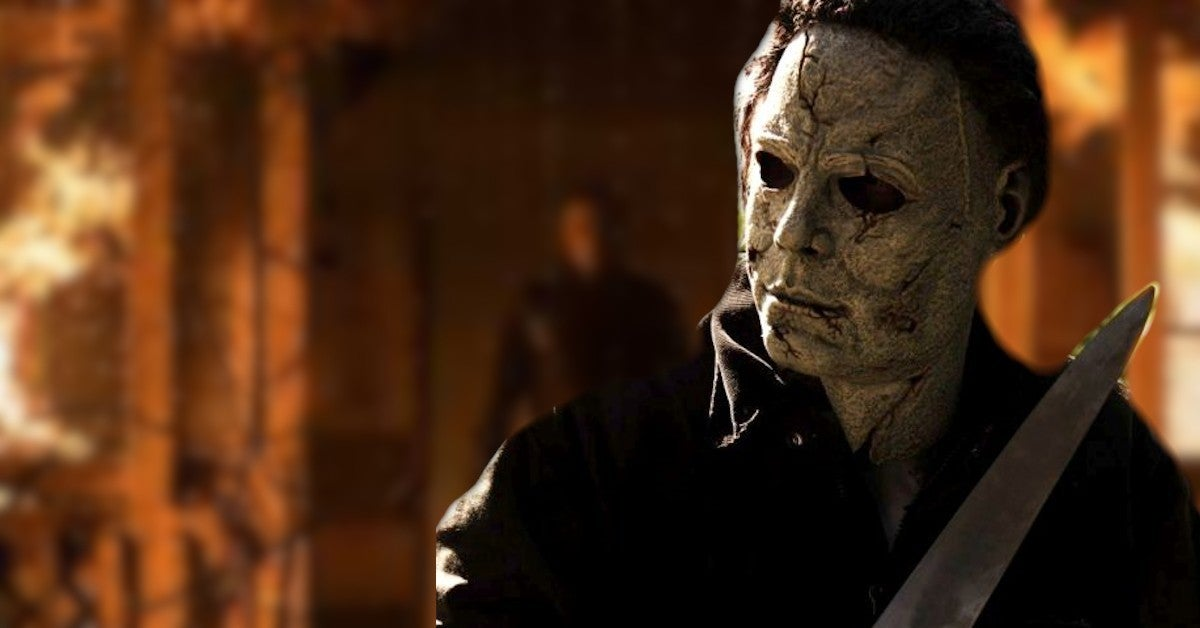 Halloween Kills New Images Michael Myers Leaves Lauries Burning House