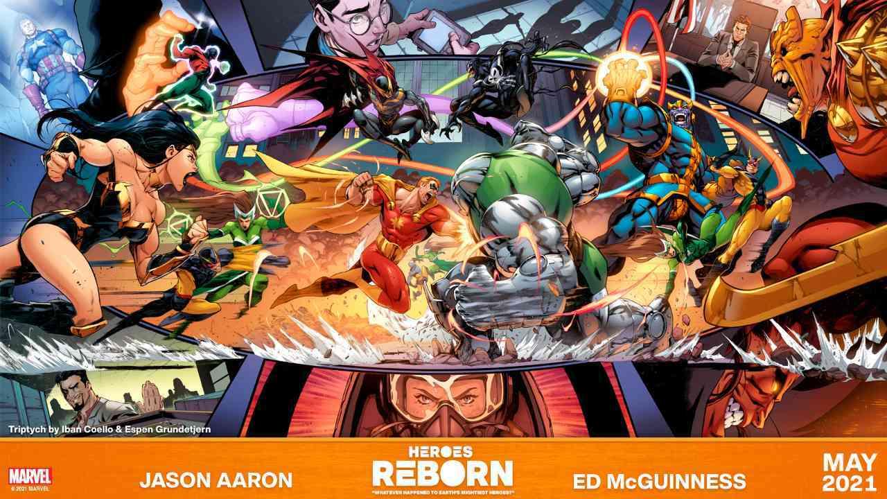 Heroes Reborn 2021 Marvel
