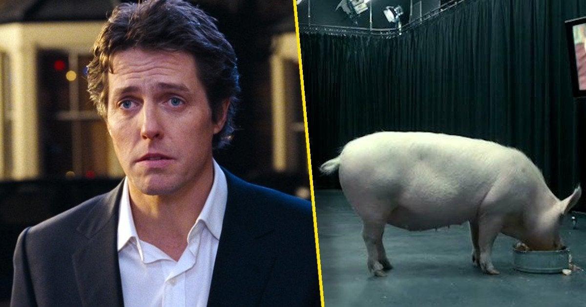 hugh grant black mirror pig