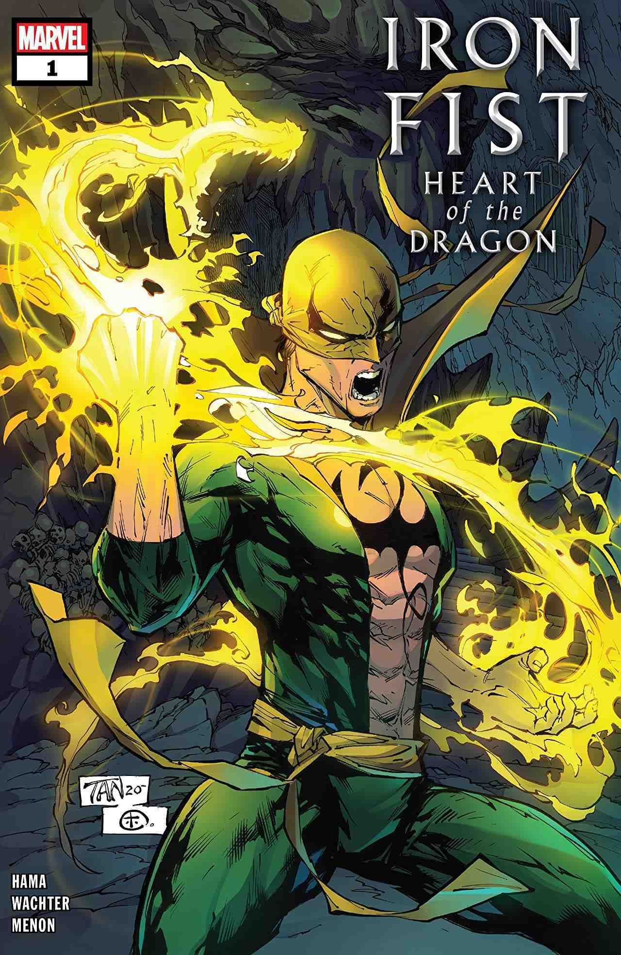 Iron Fist Heart of the Dragon #1