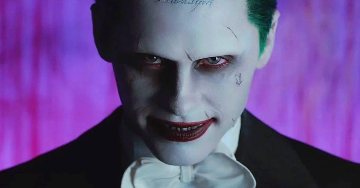 Jared Leto Joker Suicide Squad Justice League