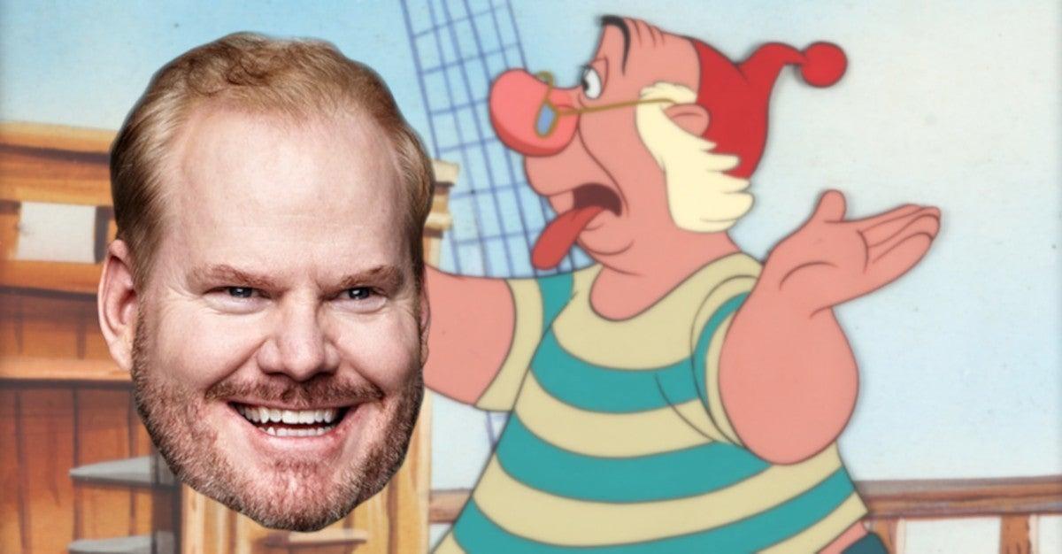 Jim Gaffigan Smee Disney Peter Pan Wendy Movie