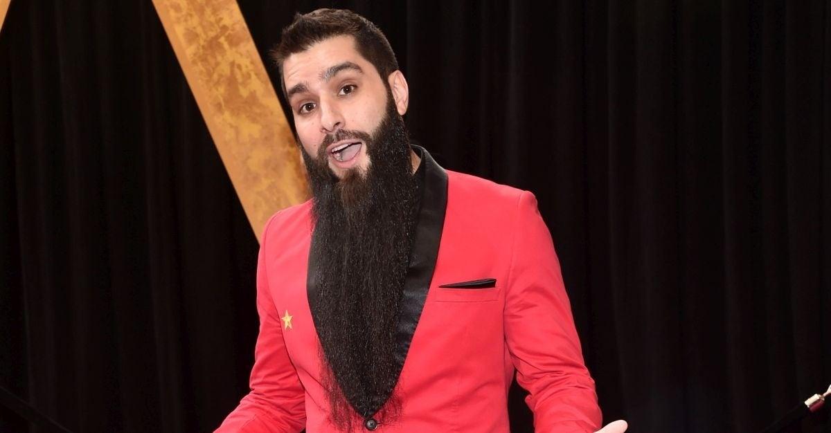 jordan voght-roberts beart shaved
