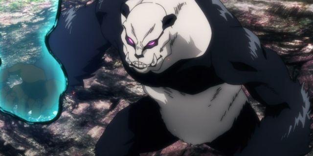 Jujutsu Kaisen Panda Gorilla Mode Anime Fight