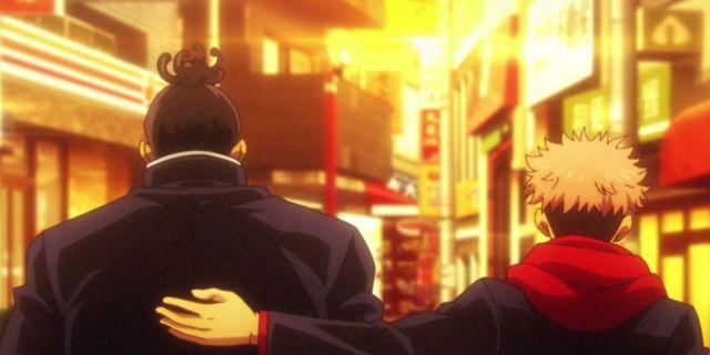 Jujutsu Kaisen Yuji Todo Best Friends Funny Anime