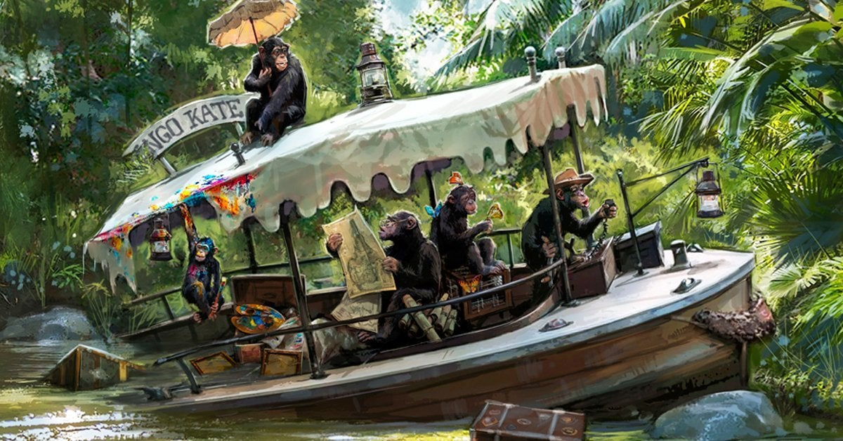 jungle cruise update concept art disneyland
