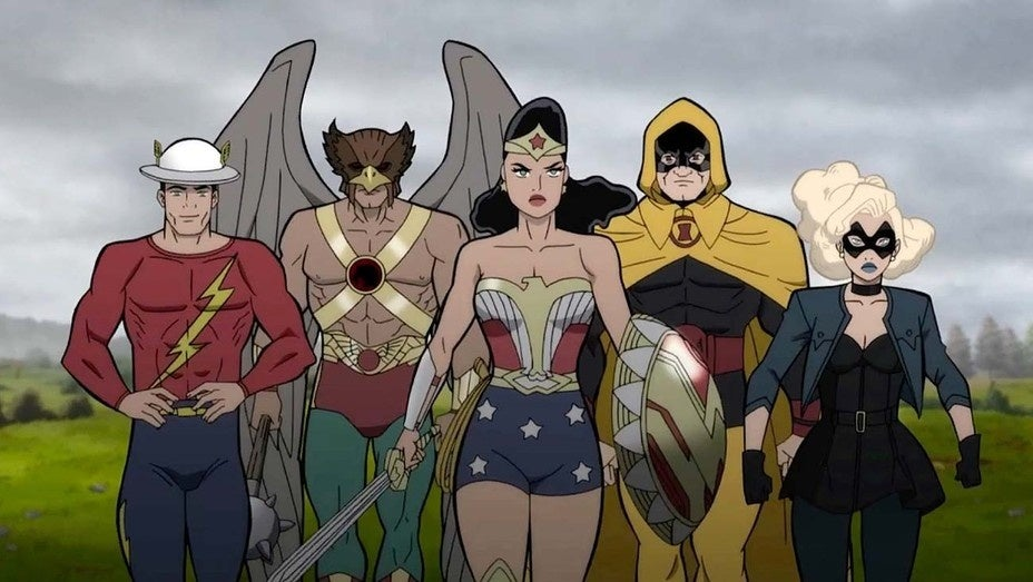 justice society dc animated