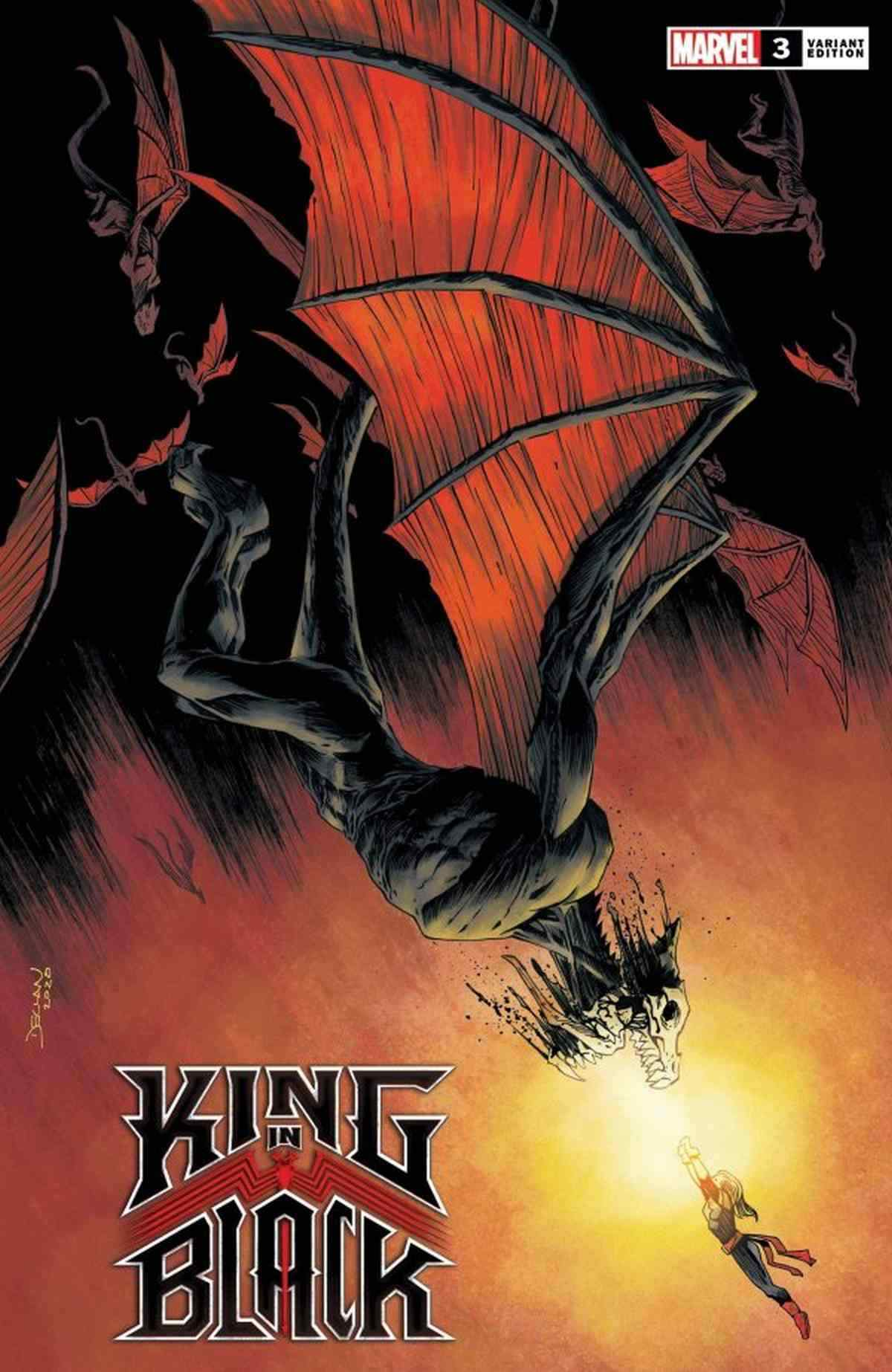King in Black 3 Variant Covers Shalvey Dragon