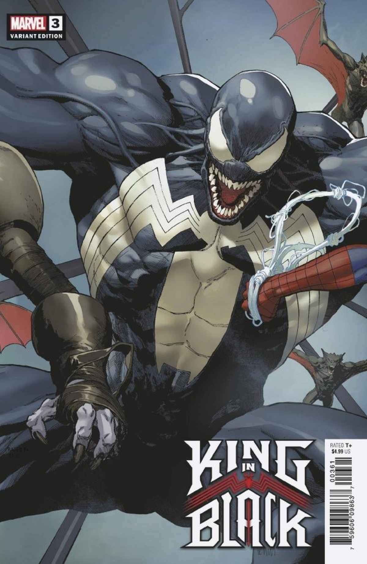 King in Black 3 Variant Covers Yu Connecting