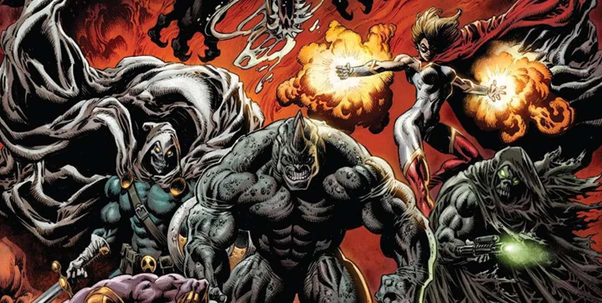King in Black Thunderbolts #1 Review - Cover