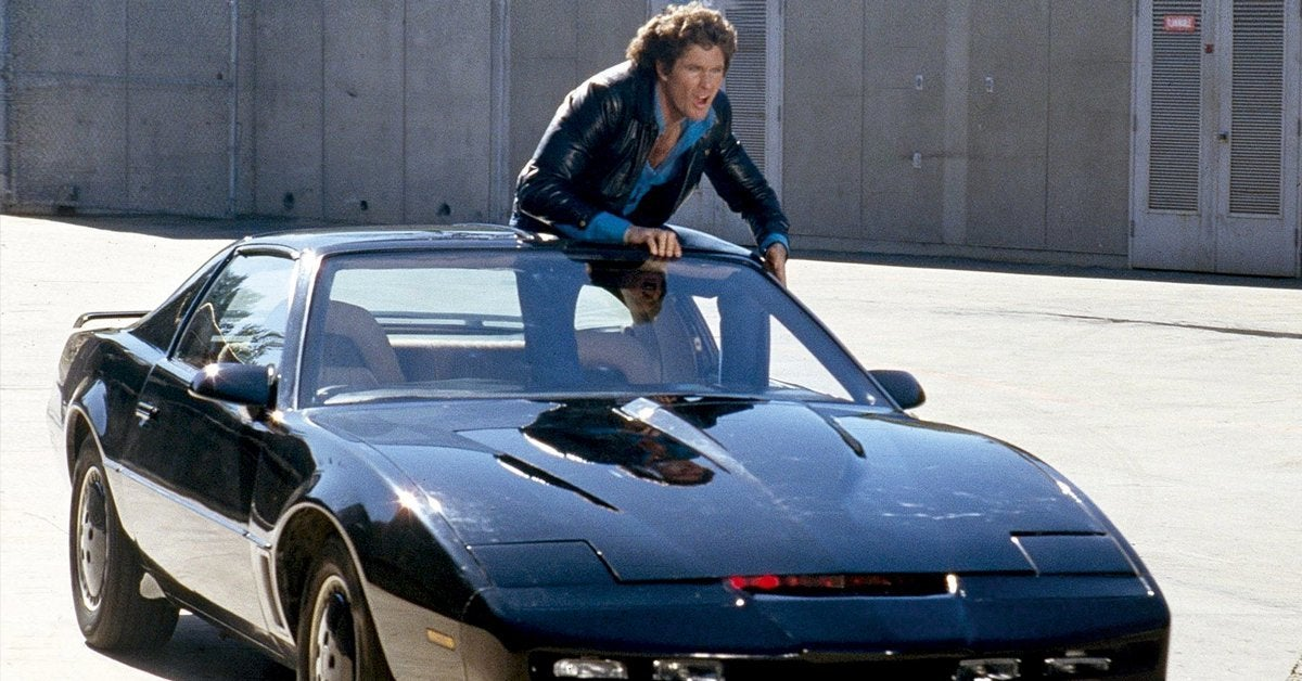knight rider car kitt david hasselhoff