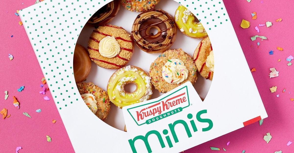 krispy kreme dessert minis