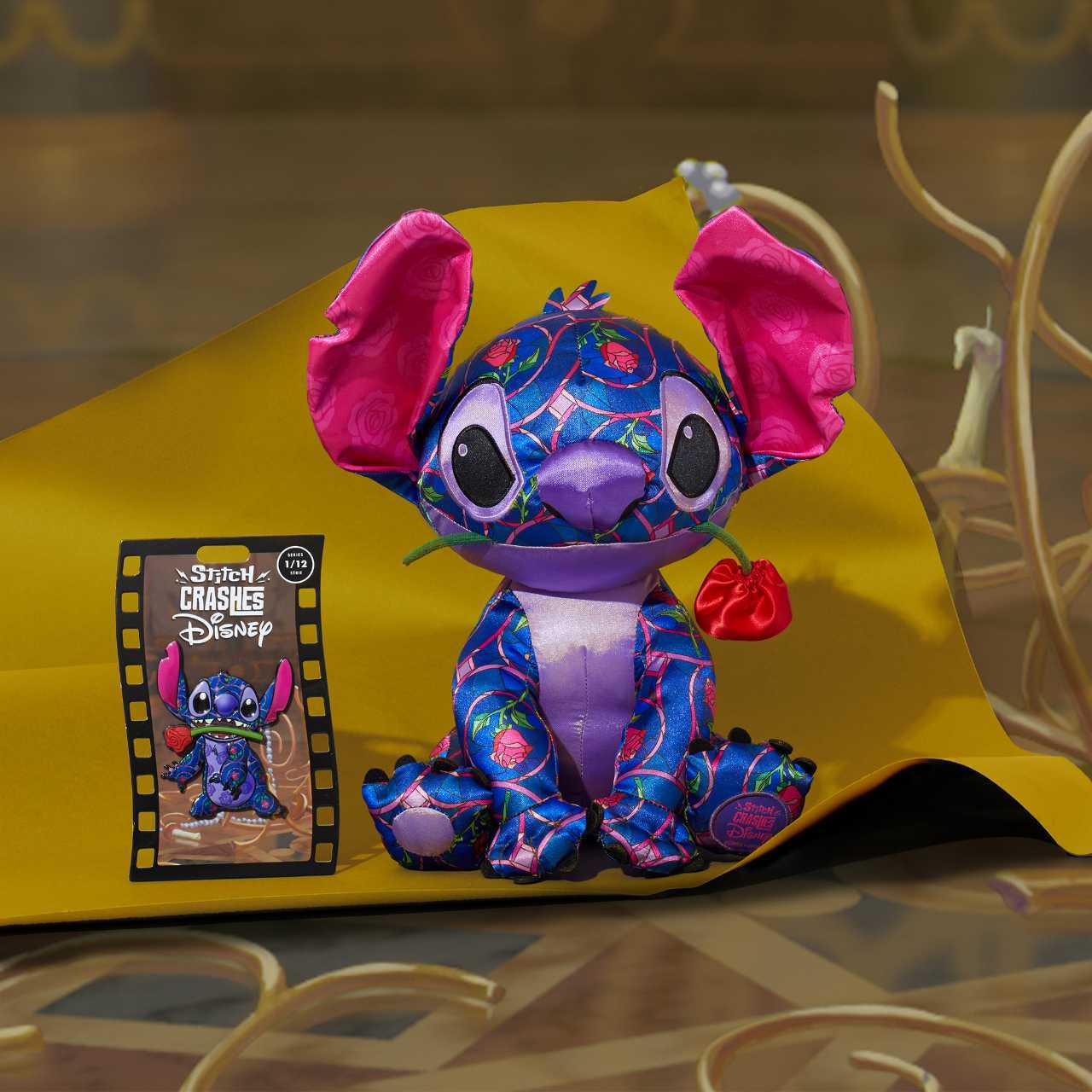 lilo and stitch crashes disney beauty and the beast