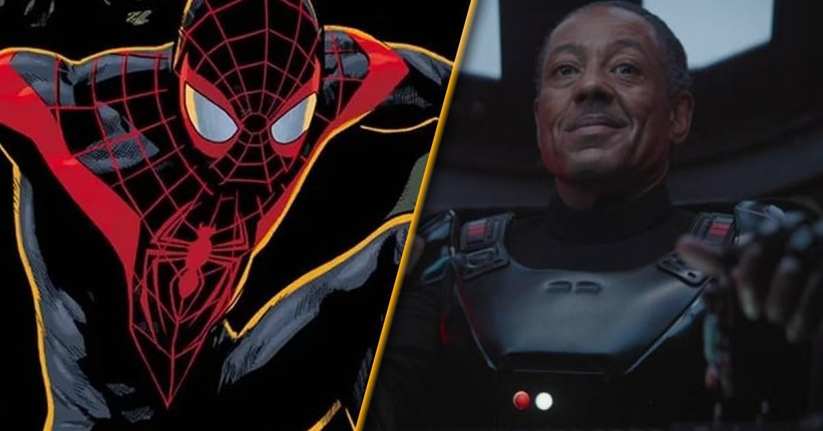 madalorian-spider-man-miles-morales-giancarlo-esposito