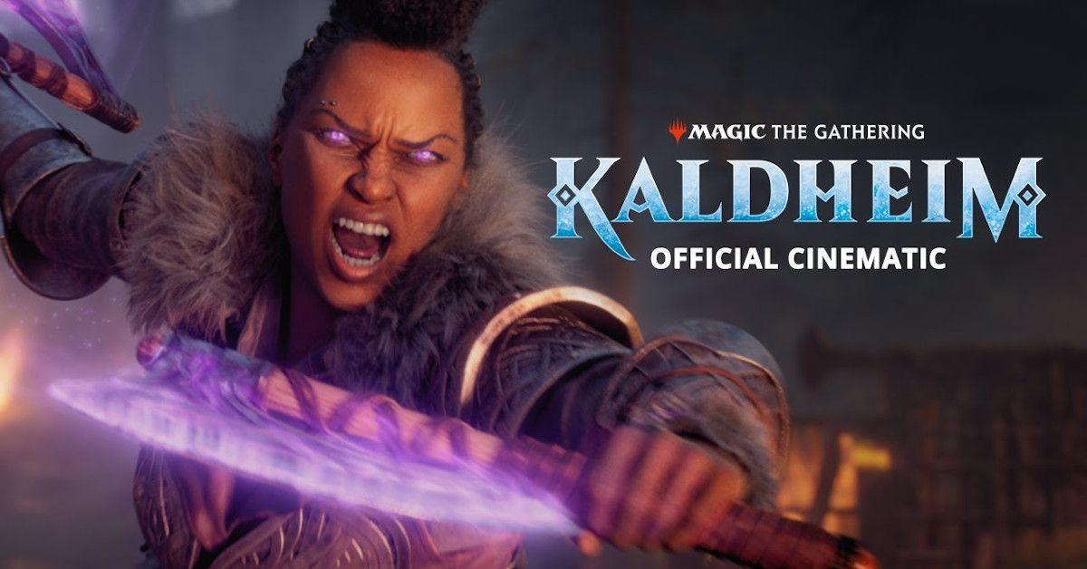 Magic the Gathering Kaldheim Trailer MTG
