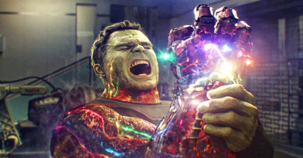 Marvel Cinematic Universe Blip Avengers Endgame