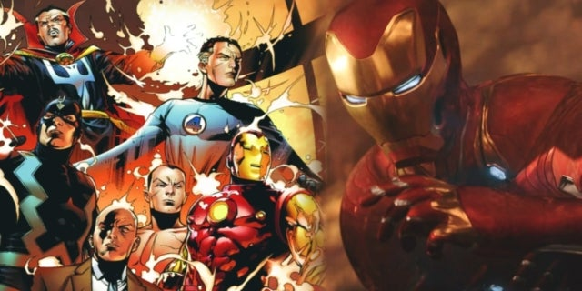 Marvel Iron Man Reed Richards Fantastic Four
