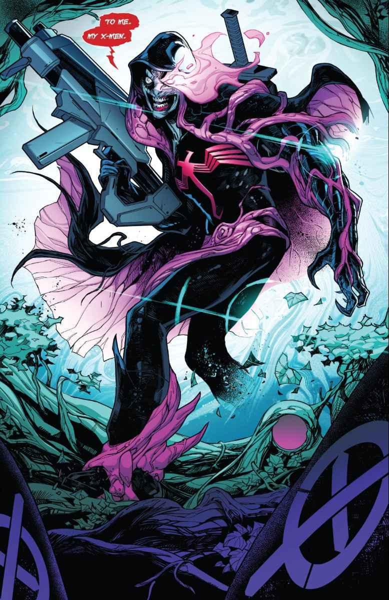 Marvel King in Black Cable Symobiote X-Men Sword