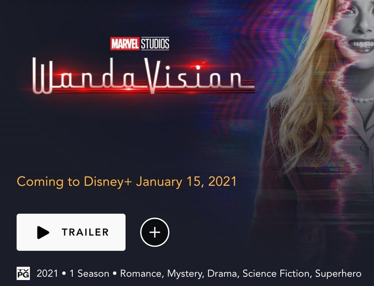 marvel's wandavision rating tv pg