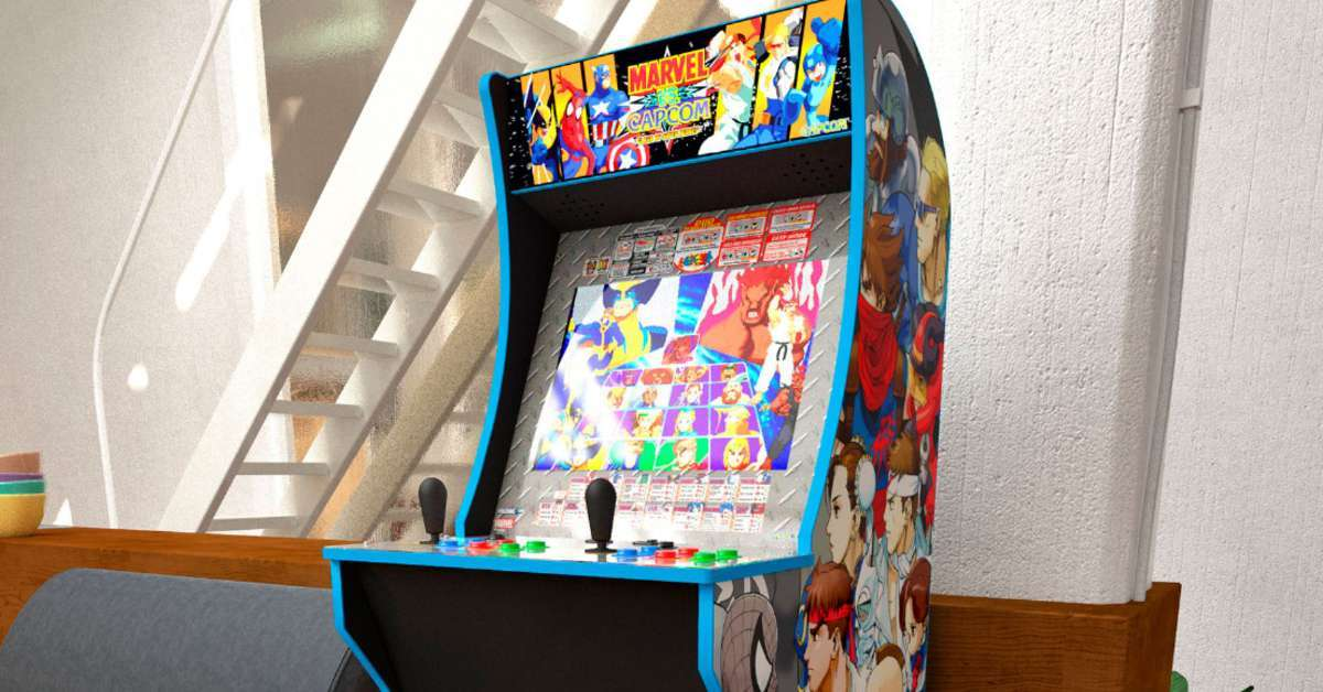 marvel vs capcom arcade1up