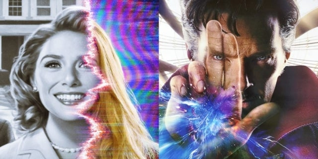 Marvel WandaVision Elizabeth Olsen Doctor Strange Benedict Cumberbatch