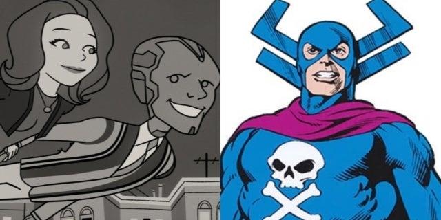 Marvel WandaVision Grim Reaper COMICBOOKCOM