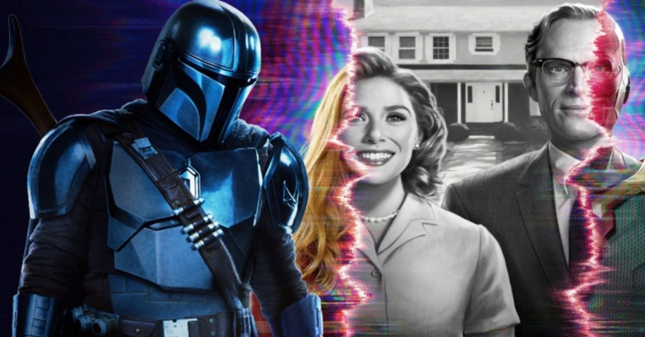 """WandaVision Director Defends Week-to-Week Release Schedule: """"It's Worked Really Well For The Mandalorian"""""""