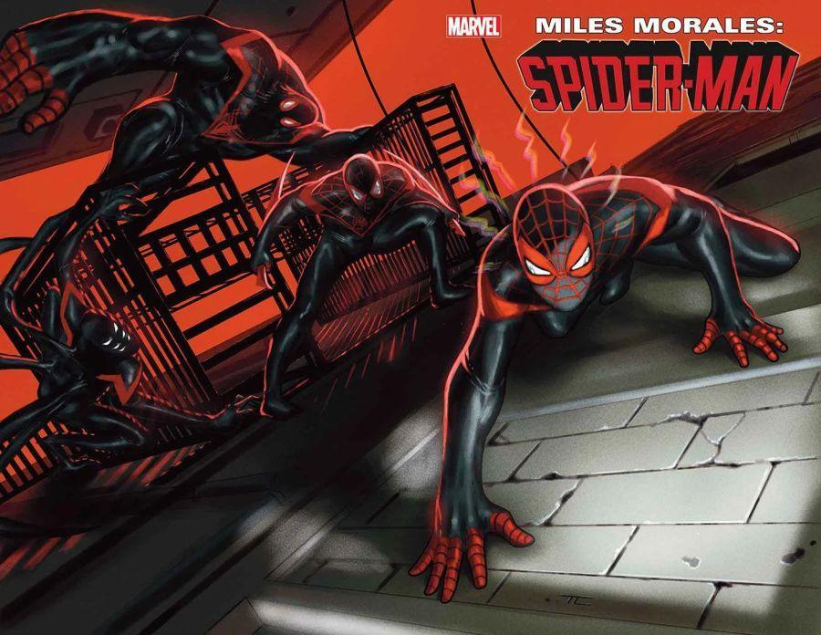 miles morales spider-man 25 cover
