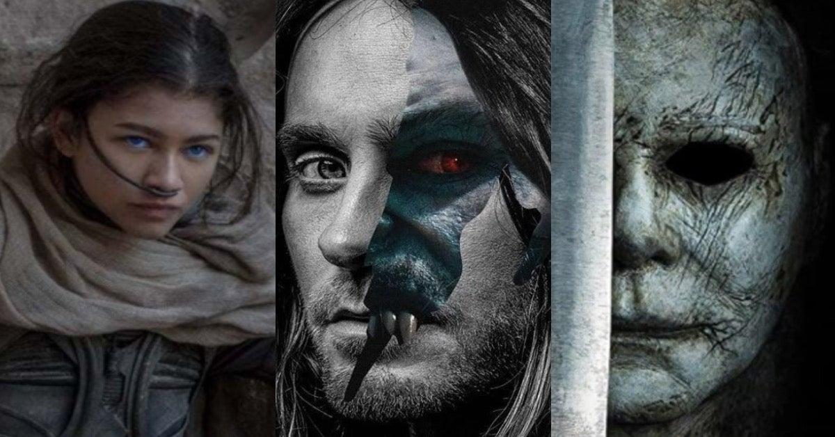 Morbius Dune Movie Halloween Kills October 2021