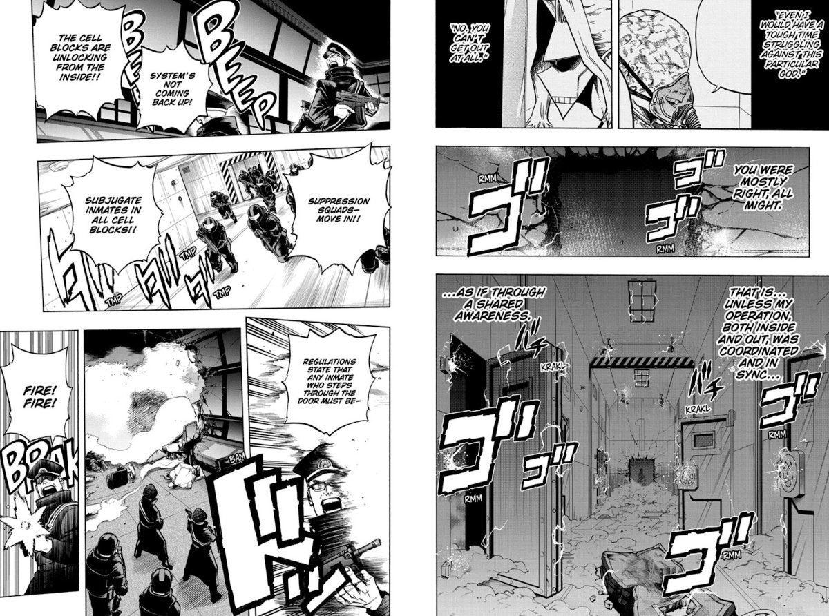 My Hero Academia Manga Chapter 297 Spoilers All For One Prison Break
