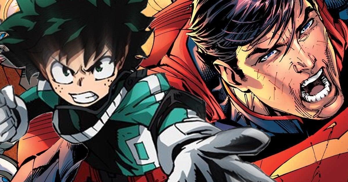 my hero academia superman
