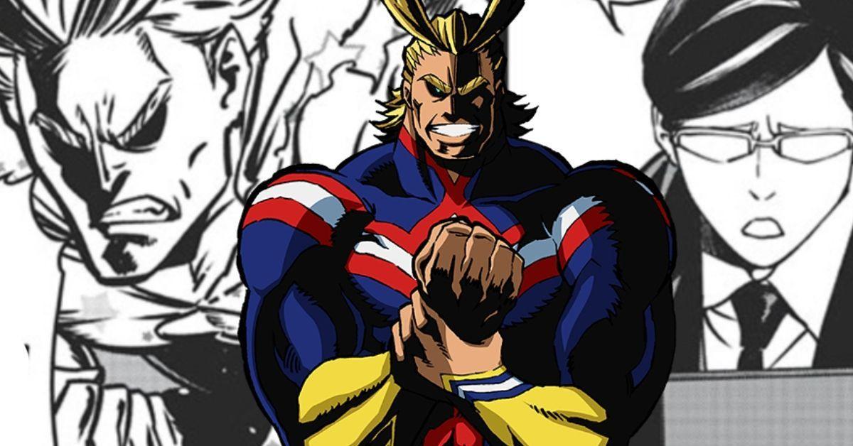 My Hero Academia Vigilantes All Might Sir Nighteye Sidekick Flashback Spoilers Manga