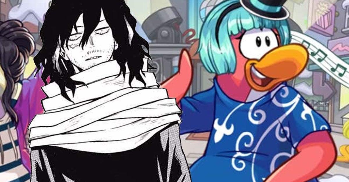 my hero academiaa penguin