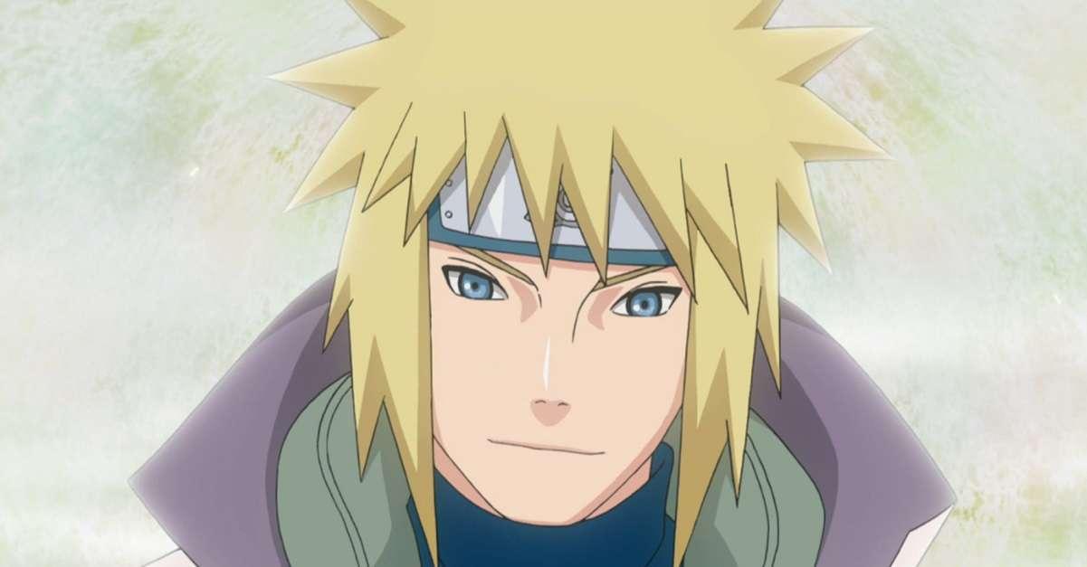 Naruto Fourth Hokage Cosplay