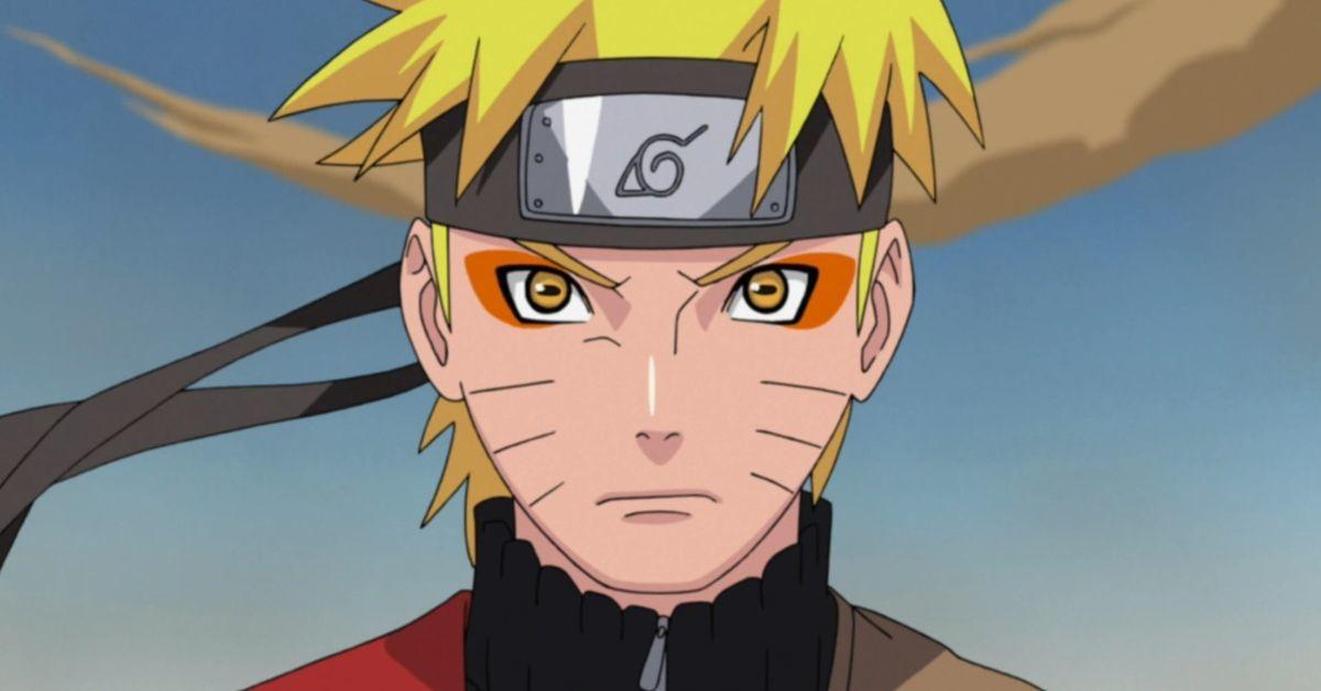 Naruto Sage Mode Anime