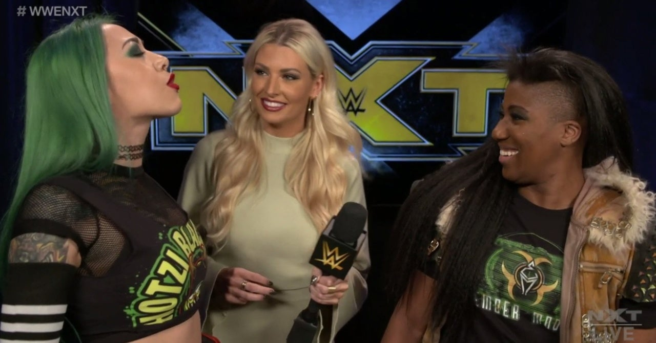 NXT's Shotzi Blackheart Reveals Ember Moon as Women's Dusty Classic Partner
