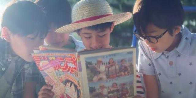 One Piece Chapter 1000 Live-Action Commercial Shonen Jump